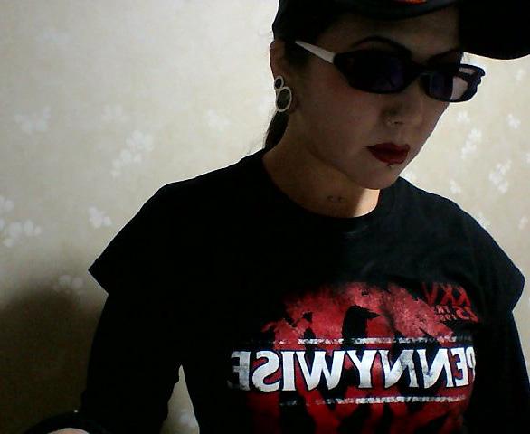 Pennywise / ペニーワイズ Banner - レディースTシャツ