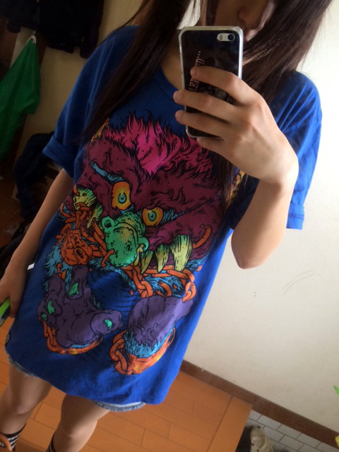 Electric Zombie Prisoner Royal Blue Tシャツ